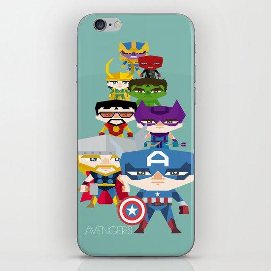avengers 2 fan art iPhone & iPod Skin