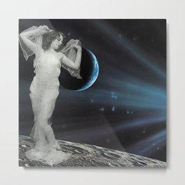 Luna Lux Metal Print