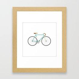 Single speedin' Framed Art Print