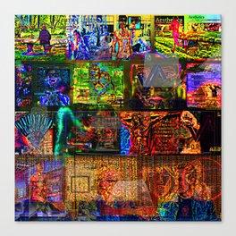 Lost In Aesthetics Canvas Print