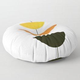 Mid Century Art Floor Pillow