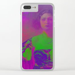 """La Trini"" Version 02 (Covered 2018) Clear iPhone Case"