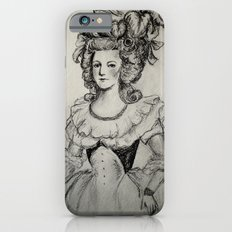 French Sketch II Slim Case iPhone 6s