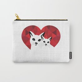 Cats in love Carry-All Pouch