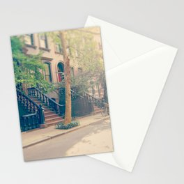 West Village Perry Street New York City Stationery Cards