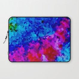 Rock Candy Blue Tie Dye. Laptop Sleeve