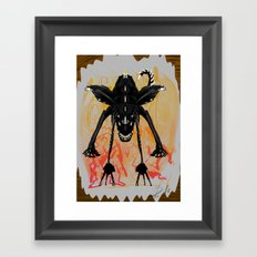 Mon.day  Framed Art Print
