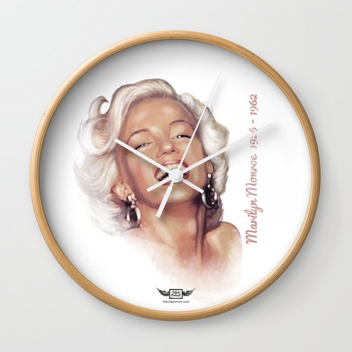 Monroe, Marilyn Wall Clock
