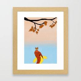 Japanese Autumn Framed Art Print