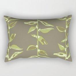 Avacado Floral Rectangular Pillow