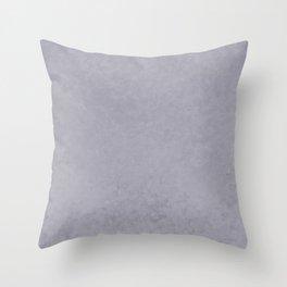 Pantone Lilac Gray, Liquid Hues, Abstract Fluid Art Design Throw Pillow