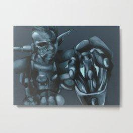 Cyber Erol Metal Print