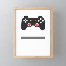 Covid19 Quarantine Gamer I Have Prepared For This My Entire Life Social Distancing Framed Mini Art Print