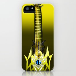 Fusion Keyblade Guitar #110 - Leopardus' Keyblade & Skull Noise iPhone Case