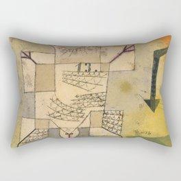 Falling Bird Rectangular Pillow
