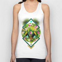 kris tate Tank Tops featuring ▲ TROPICANA ▲ by KRIS TATE x BOHEMIAN BLAST by ▲ BOHEMIAN BLAST ▲
