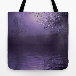 SONG OF THE NIGHTBIRD - LAVENDER Tote Bag