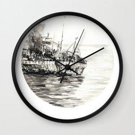 GHOST SHIP II Wall Clock