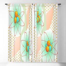 Mid-Century Modern Art Atomic 1.0 Blackout Curtain