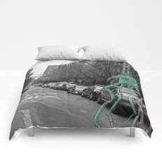 Unseen Monsters of New York - Makah  Comforters