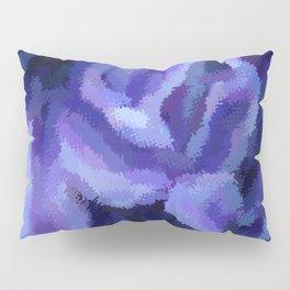 Purple Hibiscus Leaf Tapestry Print #1497 Pillow Sham