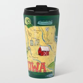 IOWA Travel Mug