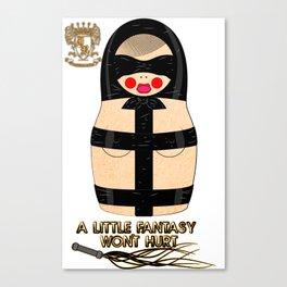 Latex Matryoshka/Nesting Doll Canvas Print