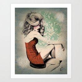 Haute Mess Series Art Print