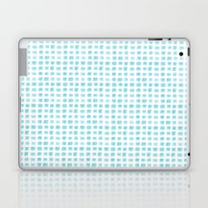 Watercolor Squares Blue Laptop & iPad Skin