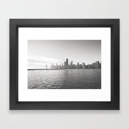 In Chicago Framed Art Print
