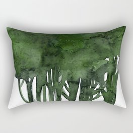 Tree Impressions No.1C by Kathy Morton Stanion Rectangular Pillow