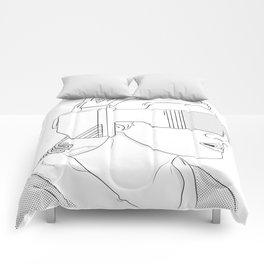 VR GIRL Comforters