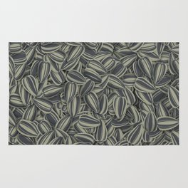 Pipas Mania (Spanish for sunflower seeds) Rug