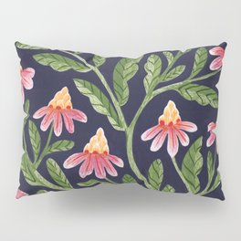 The Red Flowers Pillow Sham