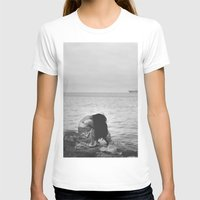 alone T-shirts featuring Alone  by PhotoStories