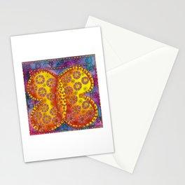 Patterned Butterfly Stationery Cards