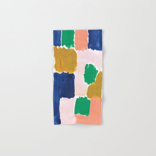 Shel Abstract Painting Boho Modern Bright Minimal Color