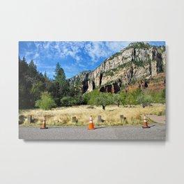 Westfork Trail Head Metal Print