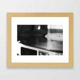 SPINNING Framed Art Print