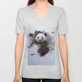 Animals and Art - Panda Unisex V-Neck