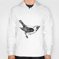 birdy Hoodies featuring Birdy by Aubree Eisenwinter