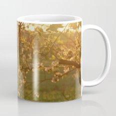 Golden Light over Apple Blossoms Coffee Mug
