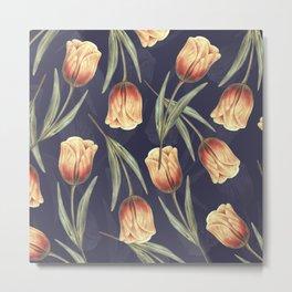 Tulipa pattern 4.1 Metal Print