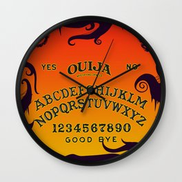Scary Ouija Board Wall Clock