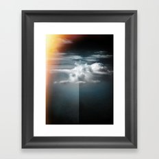 Cloud in the northern sky Framed Art Print
