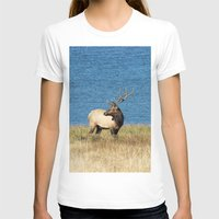 elk T-shirts featuring Elk by Becca Buecher