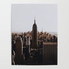 Rockefeller Center / New York City Poster