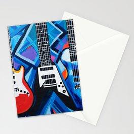 Guitar Trio Stationery Cards
