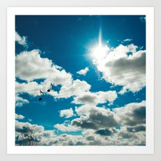 Clouds Song Art Print