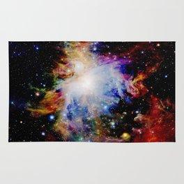 GaLaXY : Orion Nebula Dark & Colorful Rug